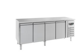 Multinox koelwerkbank - 4 deuren 600 diep