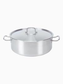 Pujadas kookpan - laag model - 7,5 cm