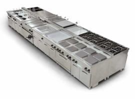Multinox elektrische kookunit 6 pits