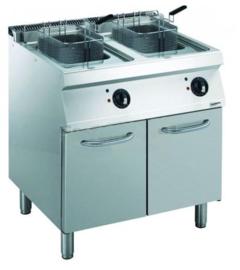 Multinox elektrische friteuse - 2 x 14 liter