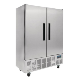 Polar slimline RVS koelkast - 960 liter
