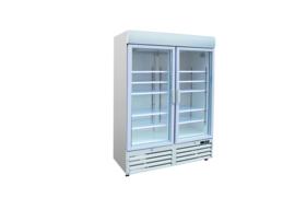 Multinox dubbeldeurs vrieskast glasdeuren - 920 liter