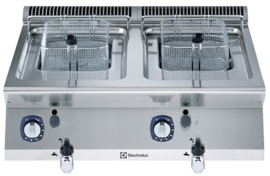 Electrolux gasfriteuse topmodel 2 x 7 liter
