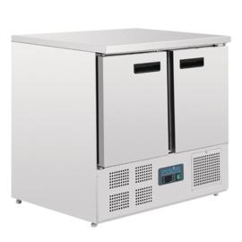 Polar koelwerkbank - 2 deuren