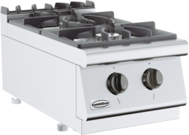 Tafelmodel gaskooktafel 2 x 6,5 kW