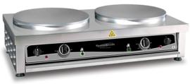 Multinox elektrische crepe maker - 2 platen