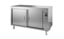 Multinox bordenwarmkast met draaideur - 1000 mm