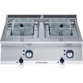 Electrolux elektrische friteuse 2 x 7 liter