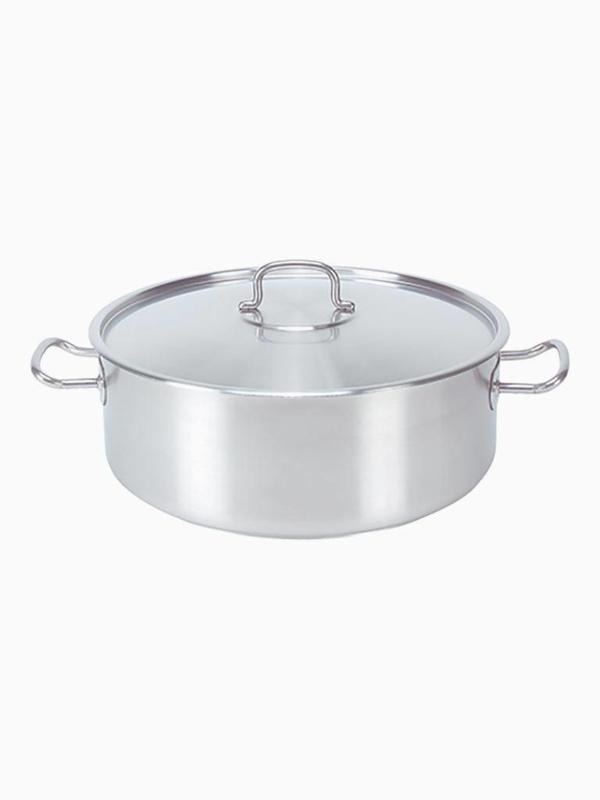 Pujadas kookpan - laag model - 9,5 cm