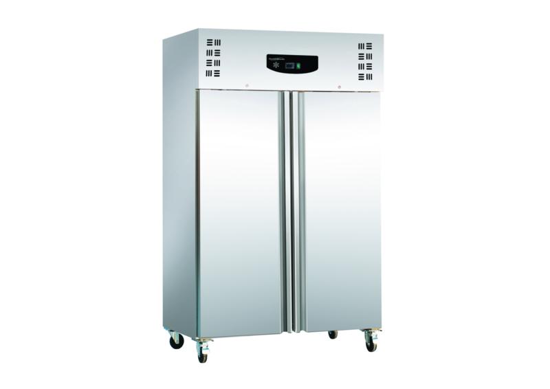 Multinox dubbeldeurs RVS koelkast