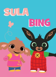 Fleece deken bing en sula