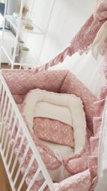 Babykameraankleding kant stof