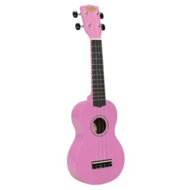Sopraan ukulele Korala roze