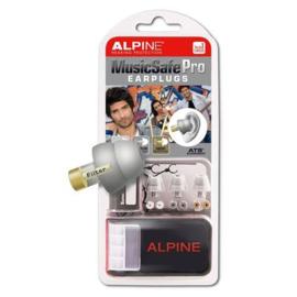 Gehoorbescherming Alpine Music Safe Pro zilver