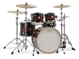 Drumset DW Shell set Design Tobacco Burst