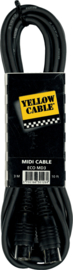 MIDI kabel YELLOW CABLE 3m