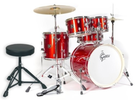 Drumset GRETSCH Energy rood