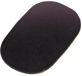 Mondstukplakkers GEWA klein zwart