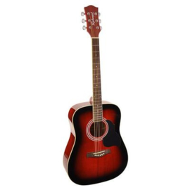 Akoestische gitaar RICHWOOD Artist serie RD 12 Red Sunburst