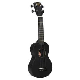 Sopraan ukulele Korala zwart