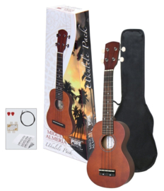 Sopraan ukulele ALMERIA Player pack