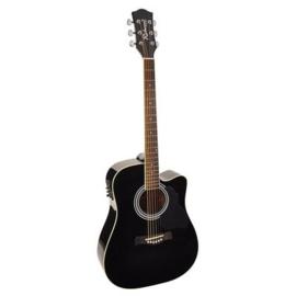 Akoestische gitaar RICHWOOD Artist serie RD 12 CE zwart