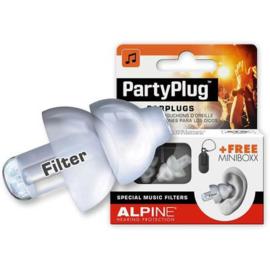 Gehoorbescherming Alpine Partyplug transparant