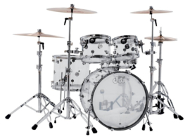 Drumset DW Shell set Design Acryl