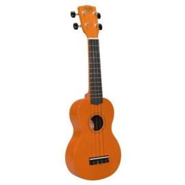 Sopraan ukulele Korala oranje