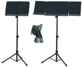 Orkestlessenaar GEWA zwart dubbel