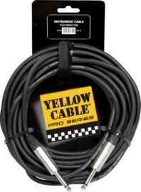 Kabel jack/jack 10m YELLOW CABLE Pro