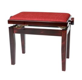 Pianobank Gewa Deluxe mahonie hoogglans