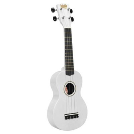 Sopraan ukulele Korala wit