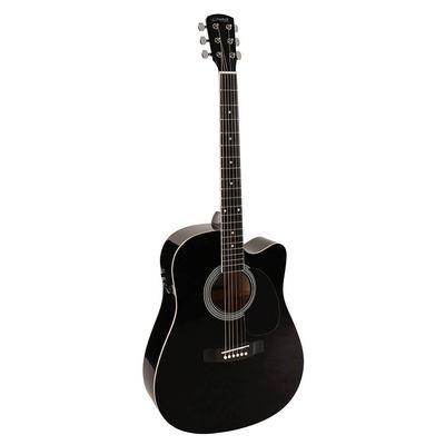 Akoestische gitaar SX  SD-1-CE zwart