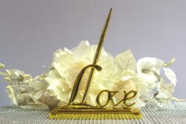 Pennenhouder Love Goud