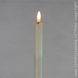 Ledkaars Wax 3D vlam Set van 2