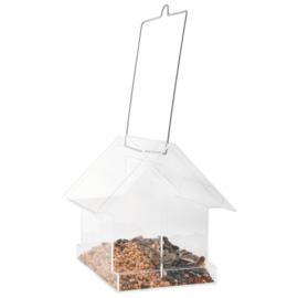 Vogelvoederhuisje Transparant met 2 Kamers