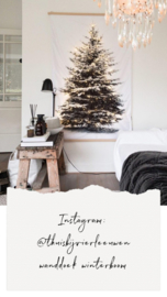 Klantenfoto WANDDOEK WINTERBOOM LED
