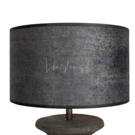 STENEN BALUSTER LAMP met kap