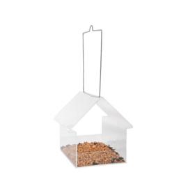 Vogelvoederhuisje transparant