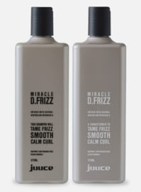 Juuce Miracle D.Frizz Shampoo/Conditioner