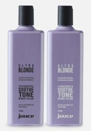 Juuce Ultra Blonde Shampoo/Conditioner