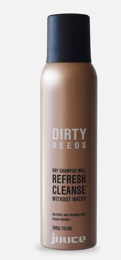 Juuce Dirty Deeds Dry Shampoo
