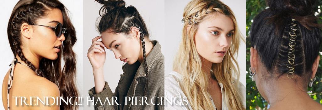 Haar Piercings