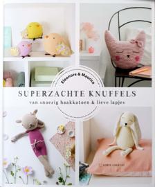 Superzachte knuffels van snoezig haakkatoen en lieve lapjes