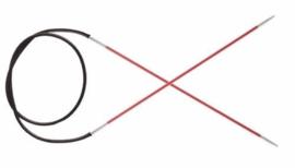 Knitpro Zing Rondbreinaalden - 2mm / 60cm