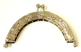 Portemonee Sluiting - 8cm Zilverkleurig