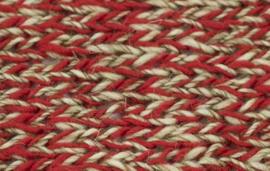 Stout - 18 Rood / Grijs gemeleerd