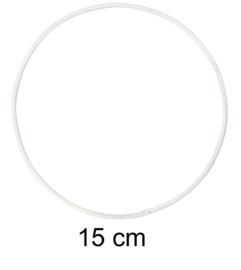 Ring voor dromenvangers - 15 cm Wit