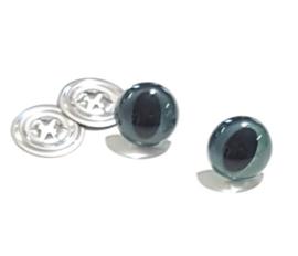 Veiligheids Poeezenogen - 12mm - Blauw Parlemoer